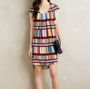 Anthropologie Maeve Multicolor Shift Dress 6